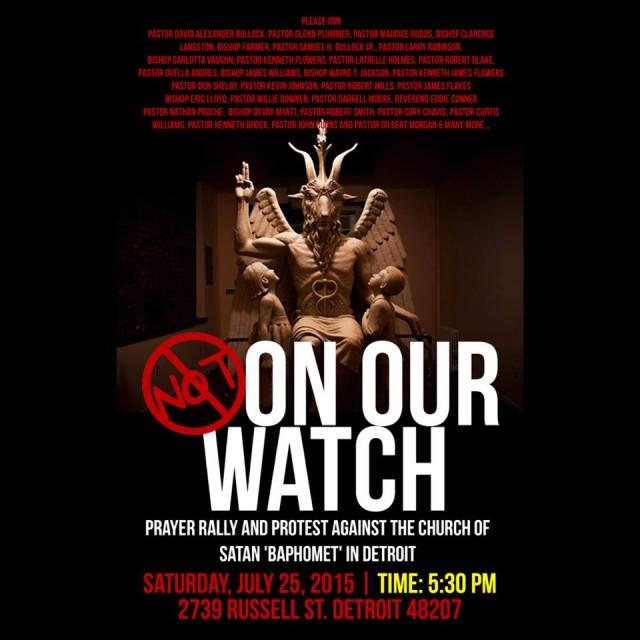 Will Christians Crash Satanic Statue Unveiling In Detroit?