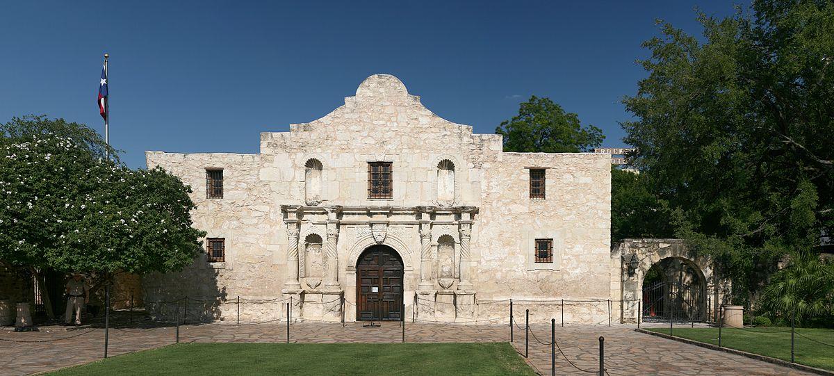 The Alamo has been designated a Unesco World Heritage Site (Image via Wikimedia)