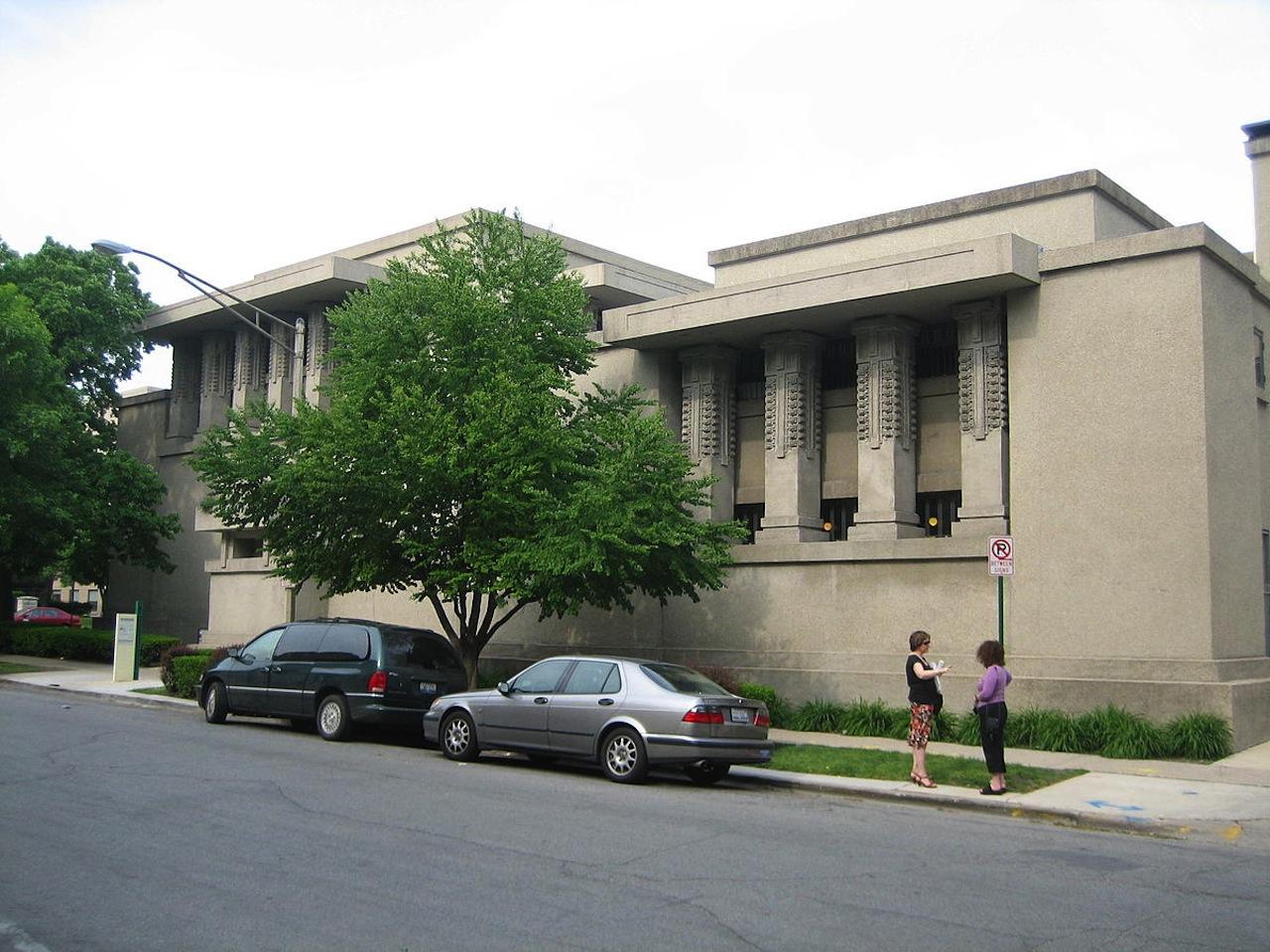 Unity Temple (Image via Wikimedia)