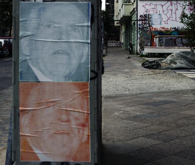 John Brennan posters in Berlin
