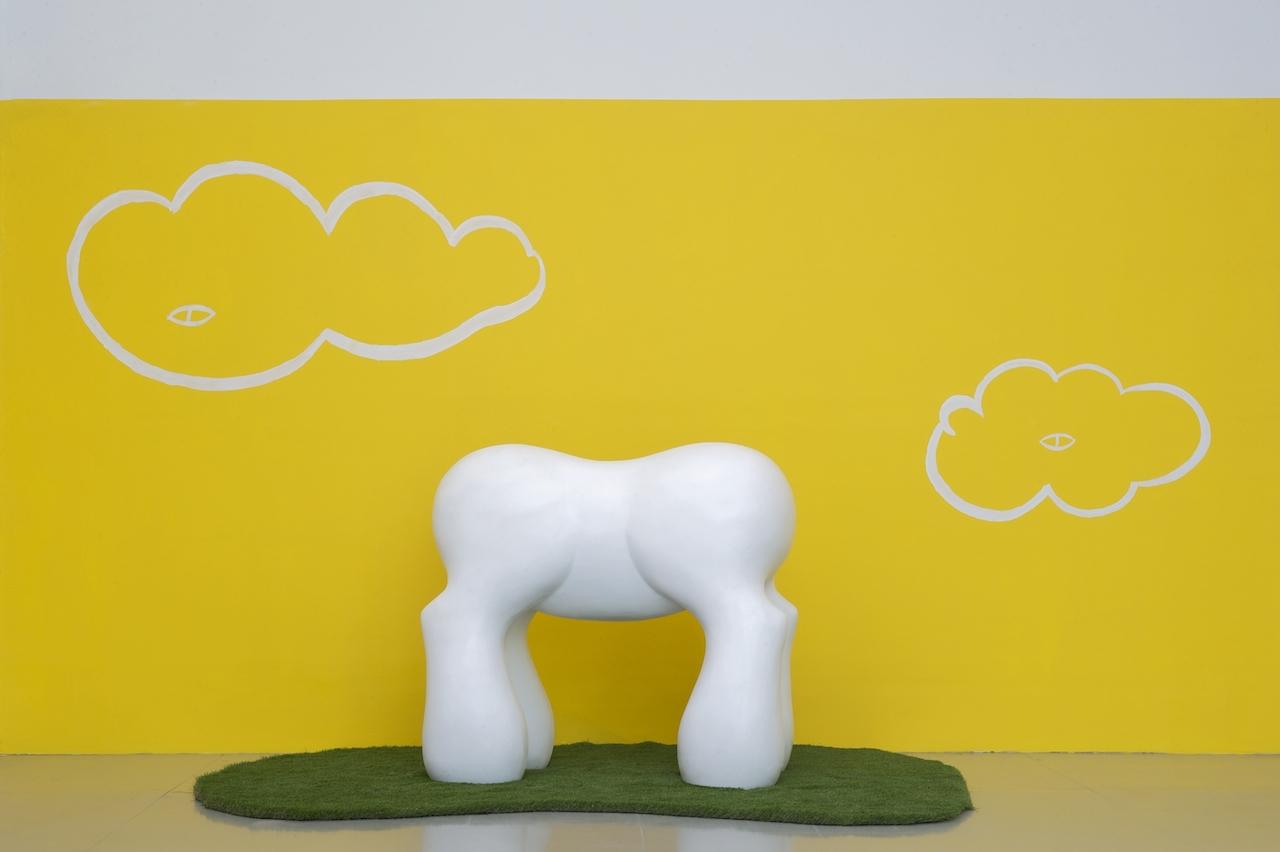 Mark Mothersbaugh My Little Pony, 2013 Ceramics, 53 x 59 x 33 in. Courtesy the artist