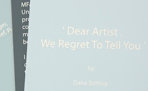 Post image for In a Success-Driven Culture, an Artist Publishes Her Rejection Letters