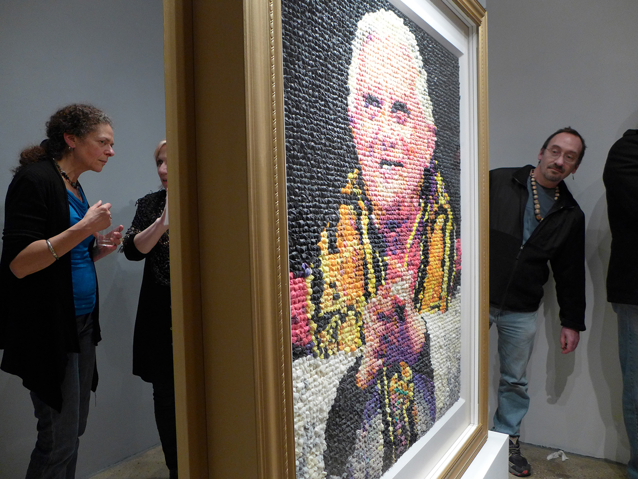 "Niki Johnson's ""Eggs Benedict"" on view at Portrait Society"