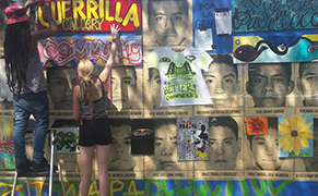 Post image for A Construction Wall in Harlem Becomes a Guerrilla Street Art Gallery