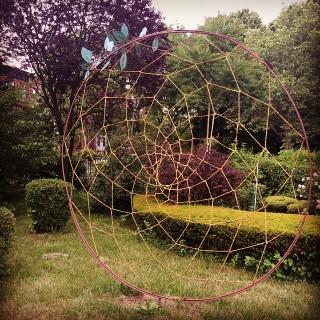 2010 sculpture by Musa Hixon (photo via @aislinnbrooke)