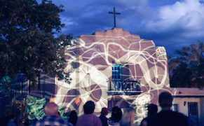 Post image for The Paseo Brings Light and Sound Installations to the Streets of Historic Taos