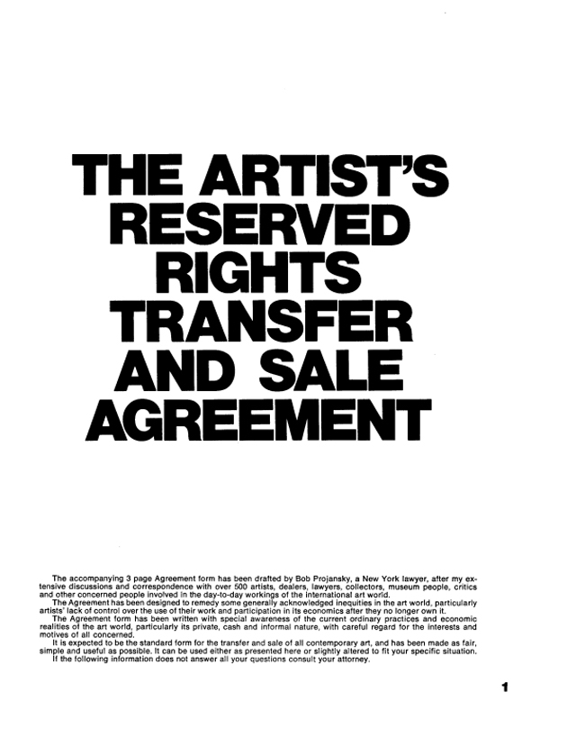 The-Artist's-Reserved-Rights-and-Transfer-and-Sale-Agreement