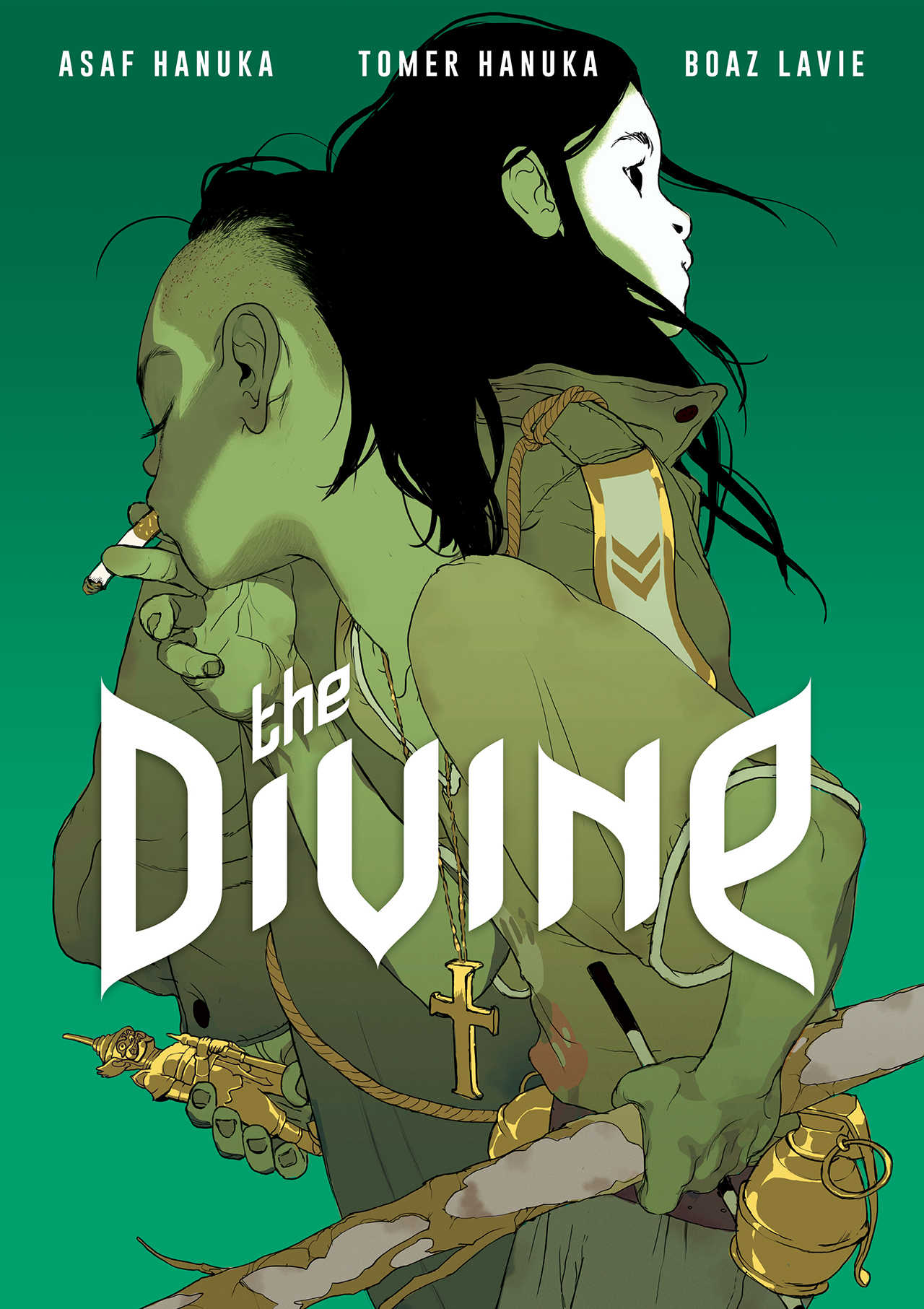 Asaf and Tomer Hanuka and Boaz Lavie's 'The Divine' (all images courtesy First Second Books)