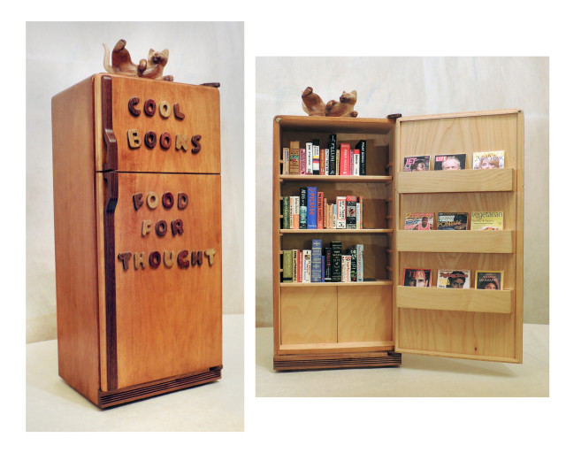 "Tom Torluemke, ""Cool Books, Food for Thought,"" (2015)"