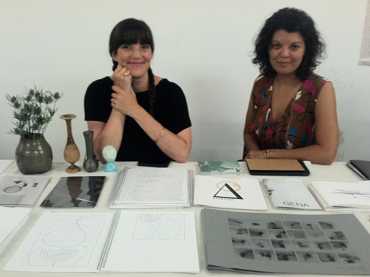 Denise Schatz and Claudia Peña Salinas of Miniature Garden