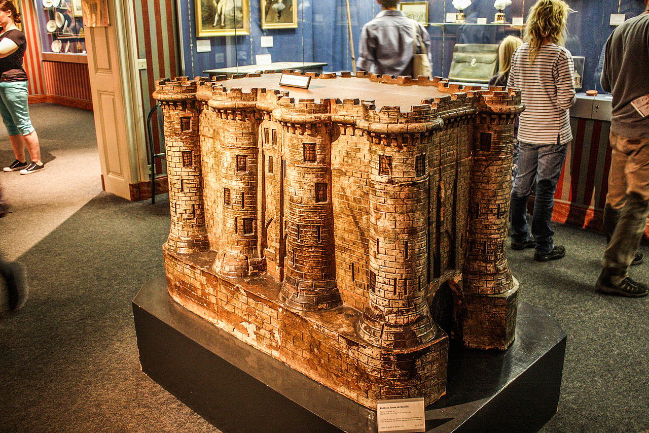 Model of the Bastille at the Musée Carnavalet (photo by Shadowgate, via Wikimedia)