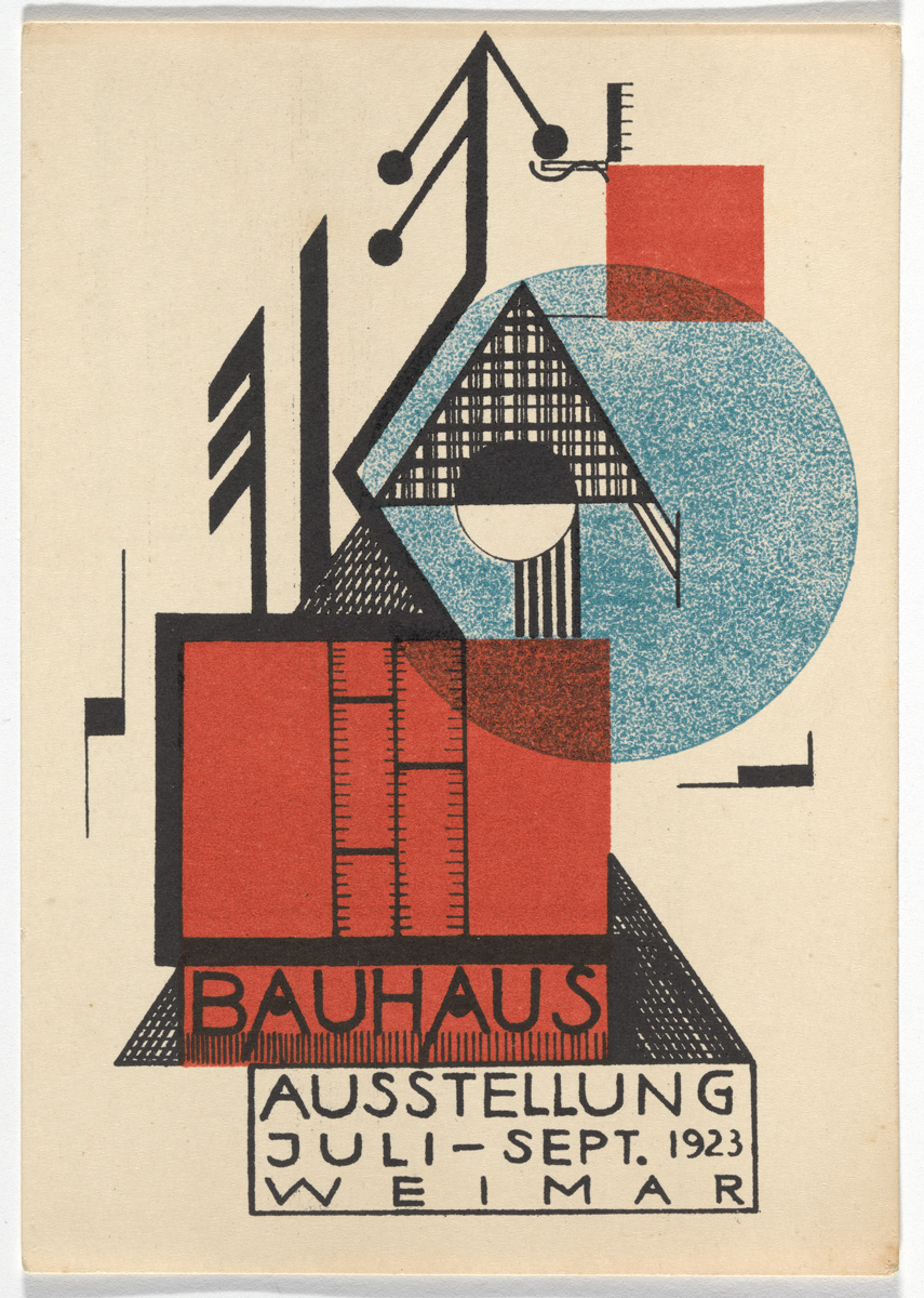 The Exuberant Postcard Art of the First Bauhaus Exhibition