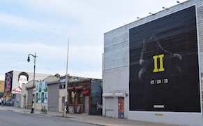 Post image for In Bushwick, Street Art Comes with a Copious Side of Advertising Billboards