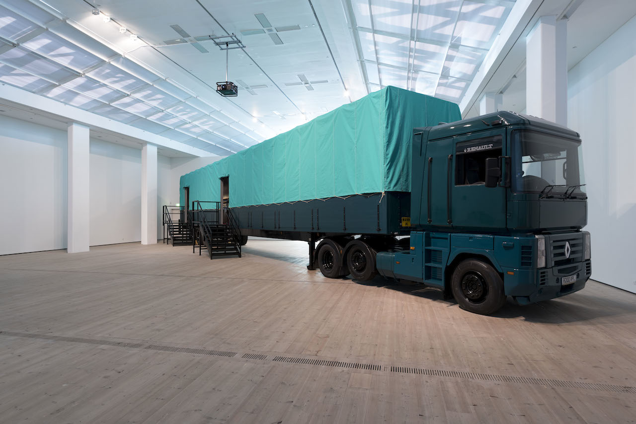 """Fiona Tan, """"Depot"""" (2015), installation view at the BALTIC Centre for Contemporary Art (photo by Jonty Wilde, © 2015 BALTIC / Jonty Wilde)"""