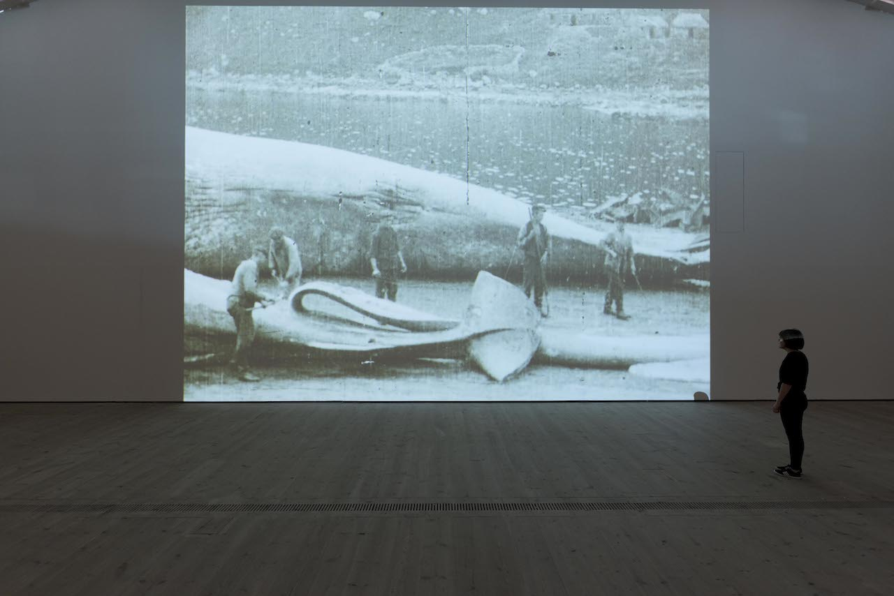 """Fiona Tan, """"Leviathan"""" (2015), installation view at the BALTIC Centre for Contemporary Art (photo by Jonty Wilde, © 2015 BALTIC / Jonty Wilde)"""