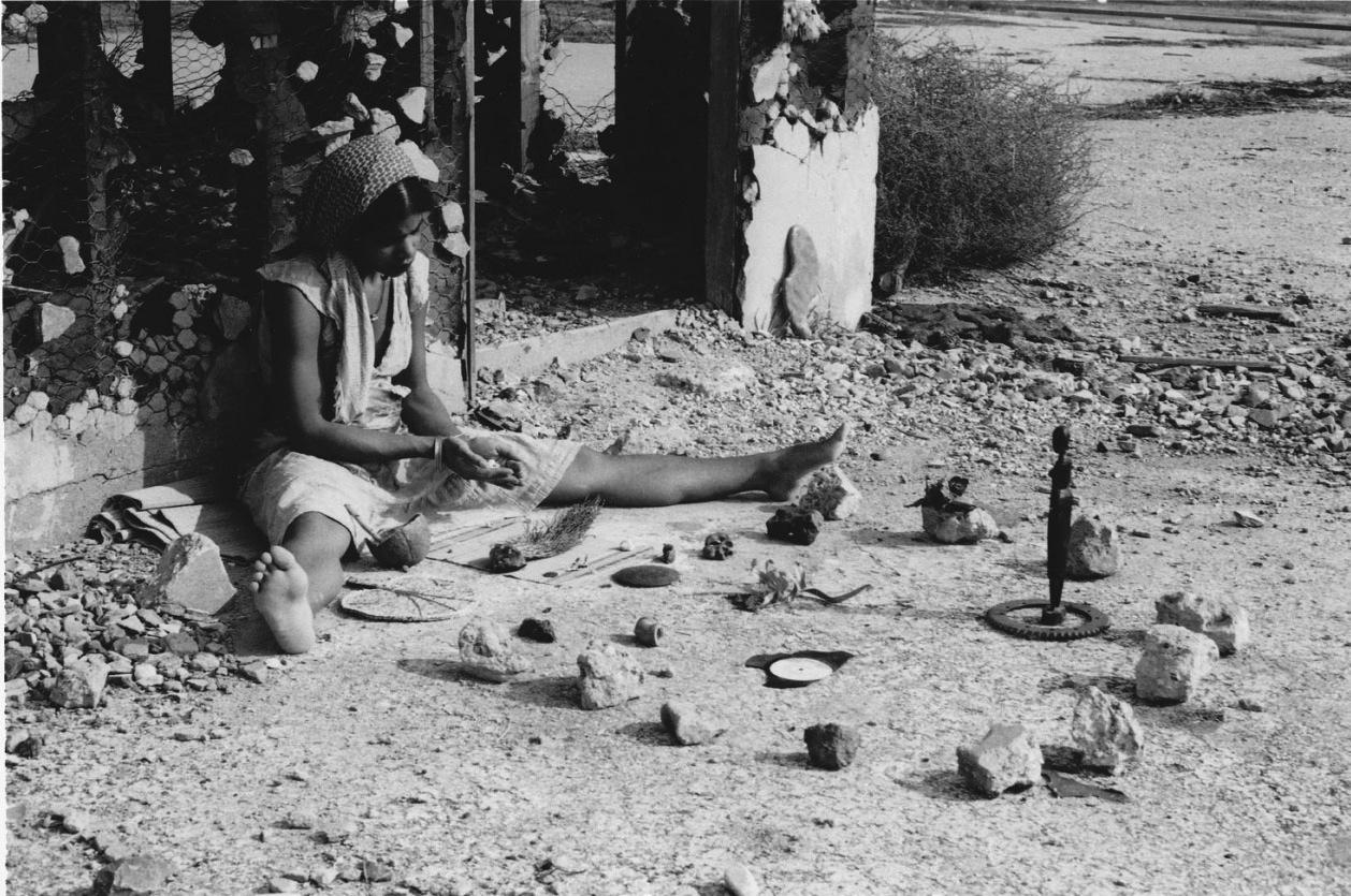 """Barbara McCullough, """"Water Ritual #1"""" production still (1979) (via 356mission.tumblr.com)"""