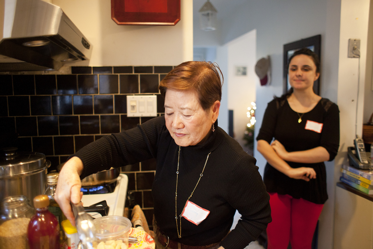 Korean cooking with Sunny