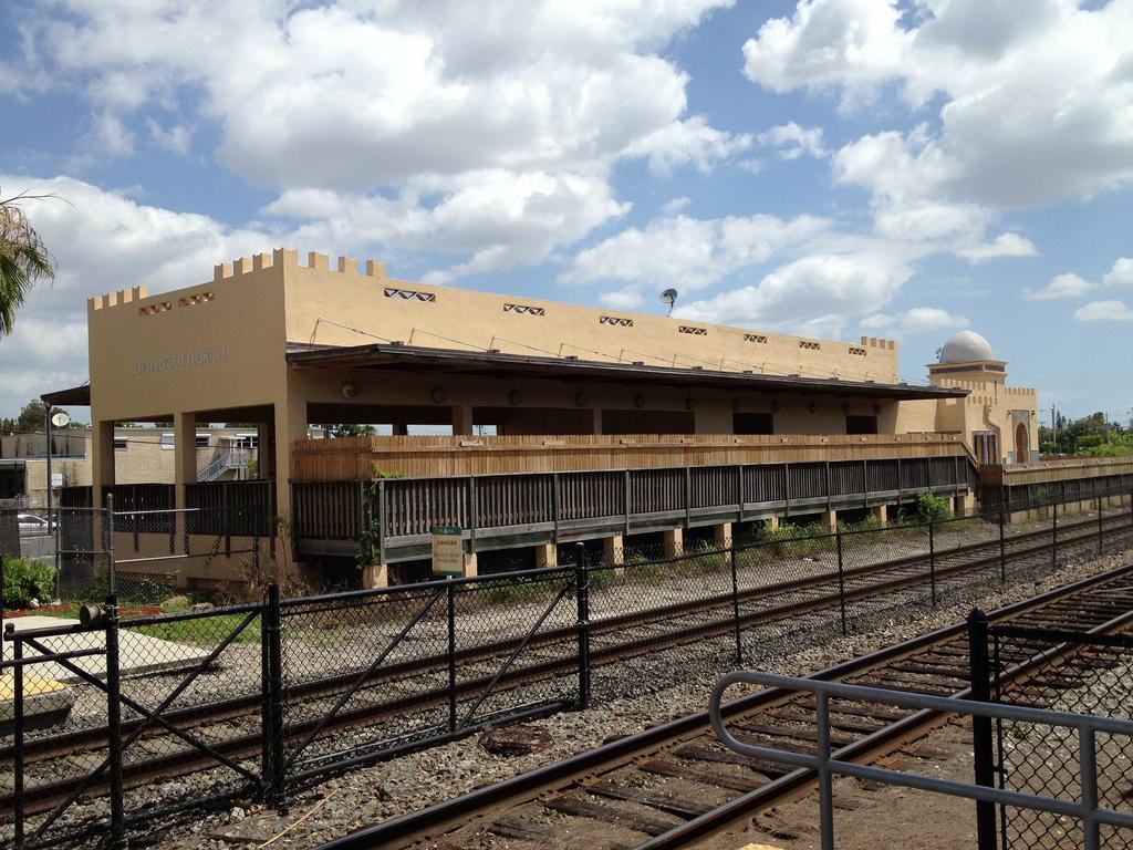 Opa-locka's train station (photo by Philip Pessar, via Flickr)