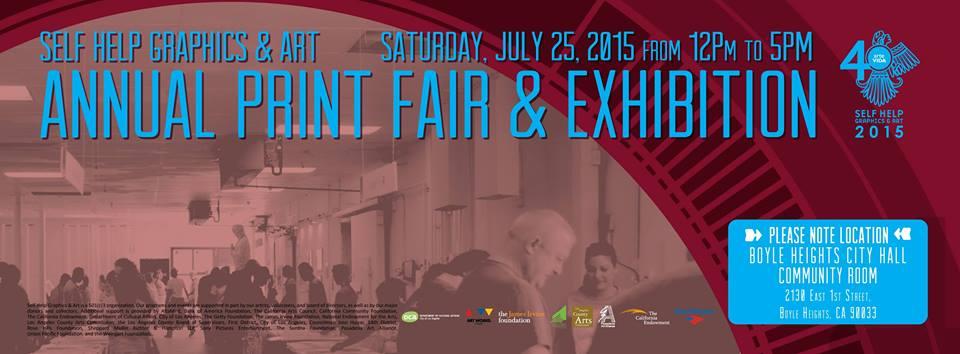 Self Help Graphics Annual Print Fair & Exhibition (via facebook)