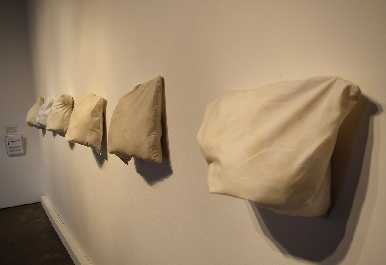 "Eduardo Gil, ""Readings of Saliva, Sweat and Tears"" (2013)"