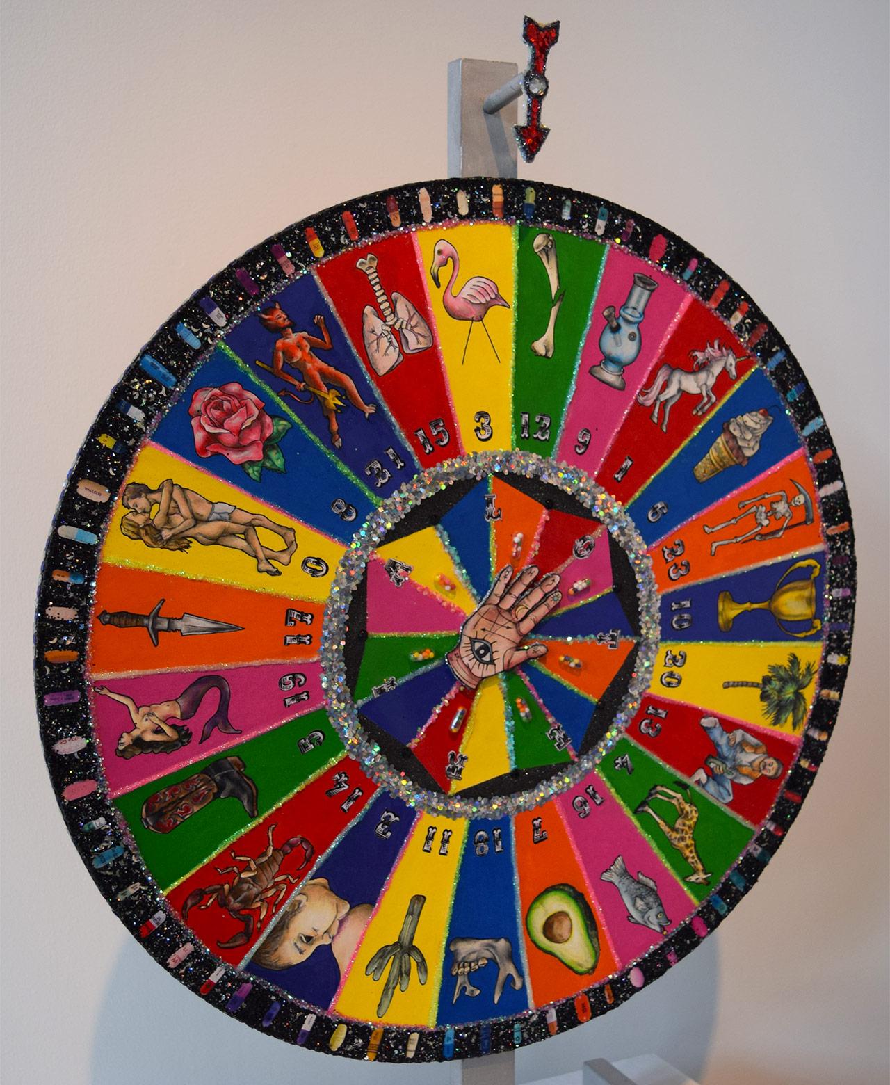 "Samantha Fein, ""Spinning Story Wheel"" (2013)"