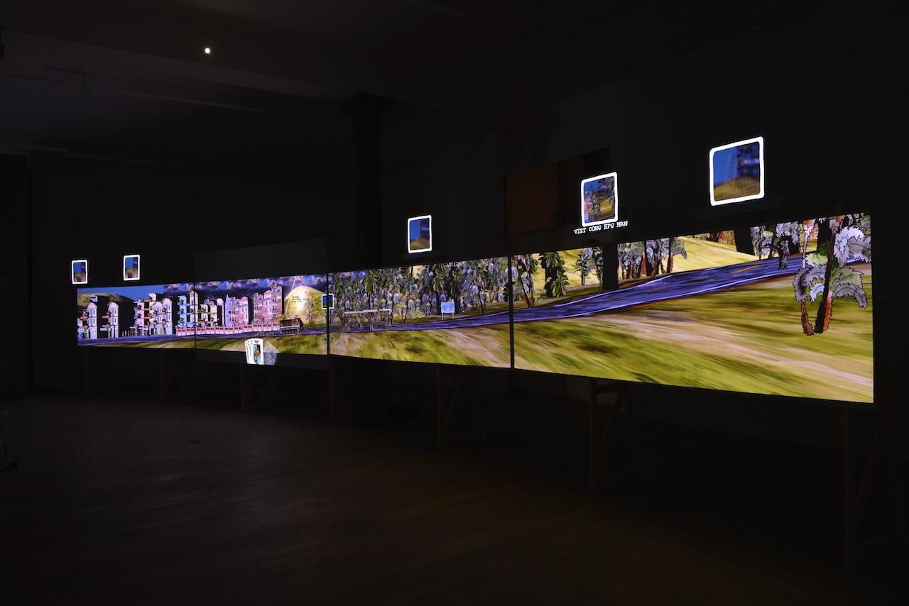 """Eddo Stern, """"Vietnam Romance"""" installation view"""
