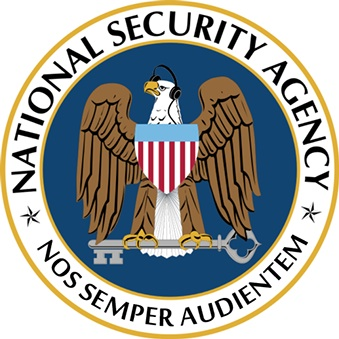 We Are Always Listening's modified NSA logo (courtesy the artists)