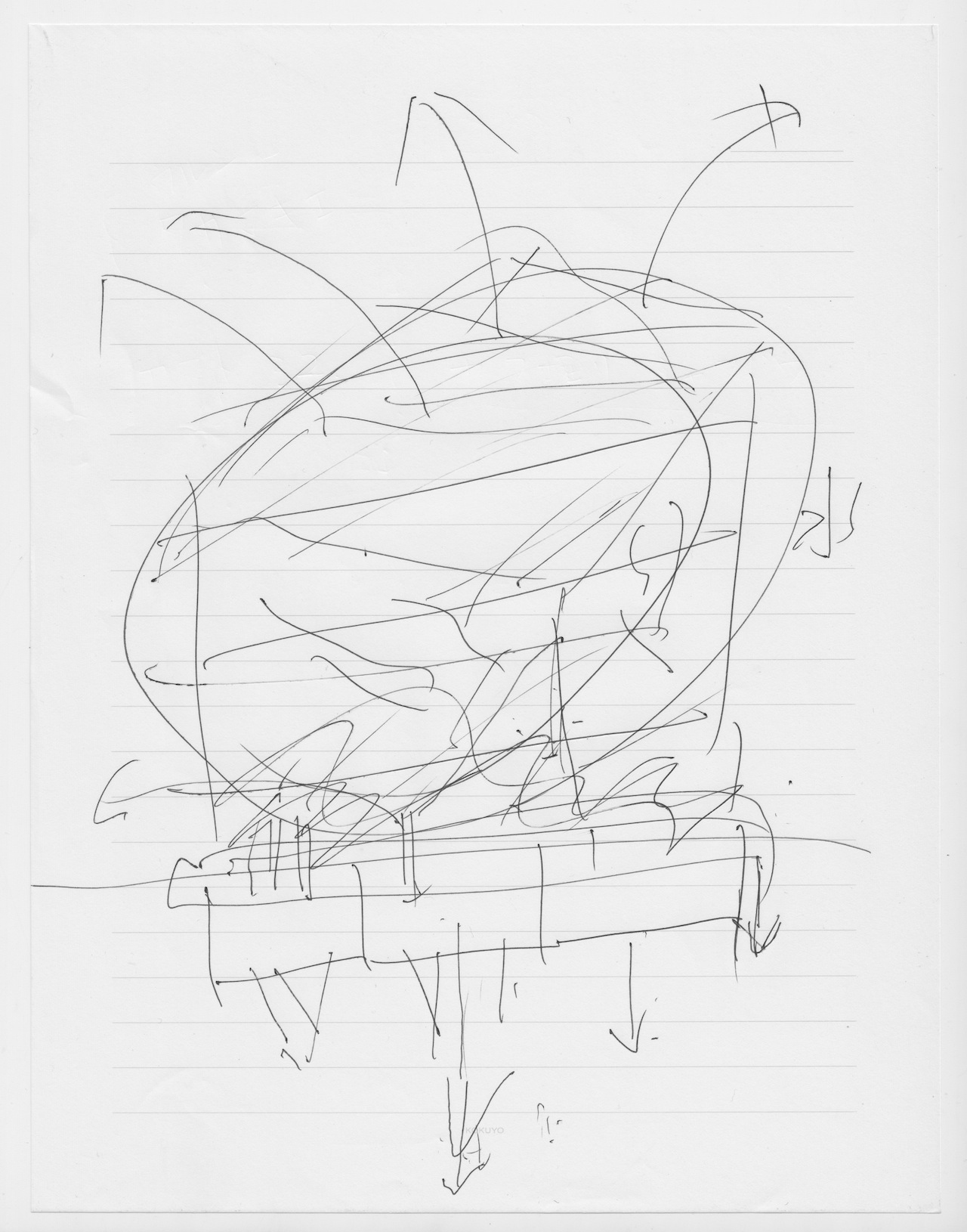 Drawing by a former resident affected by Fukushima nuclear disaster (click to enlarge)