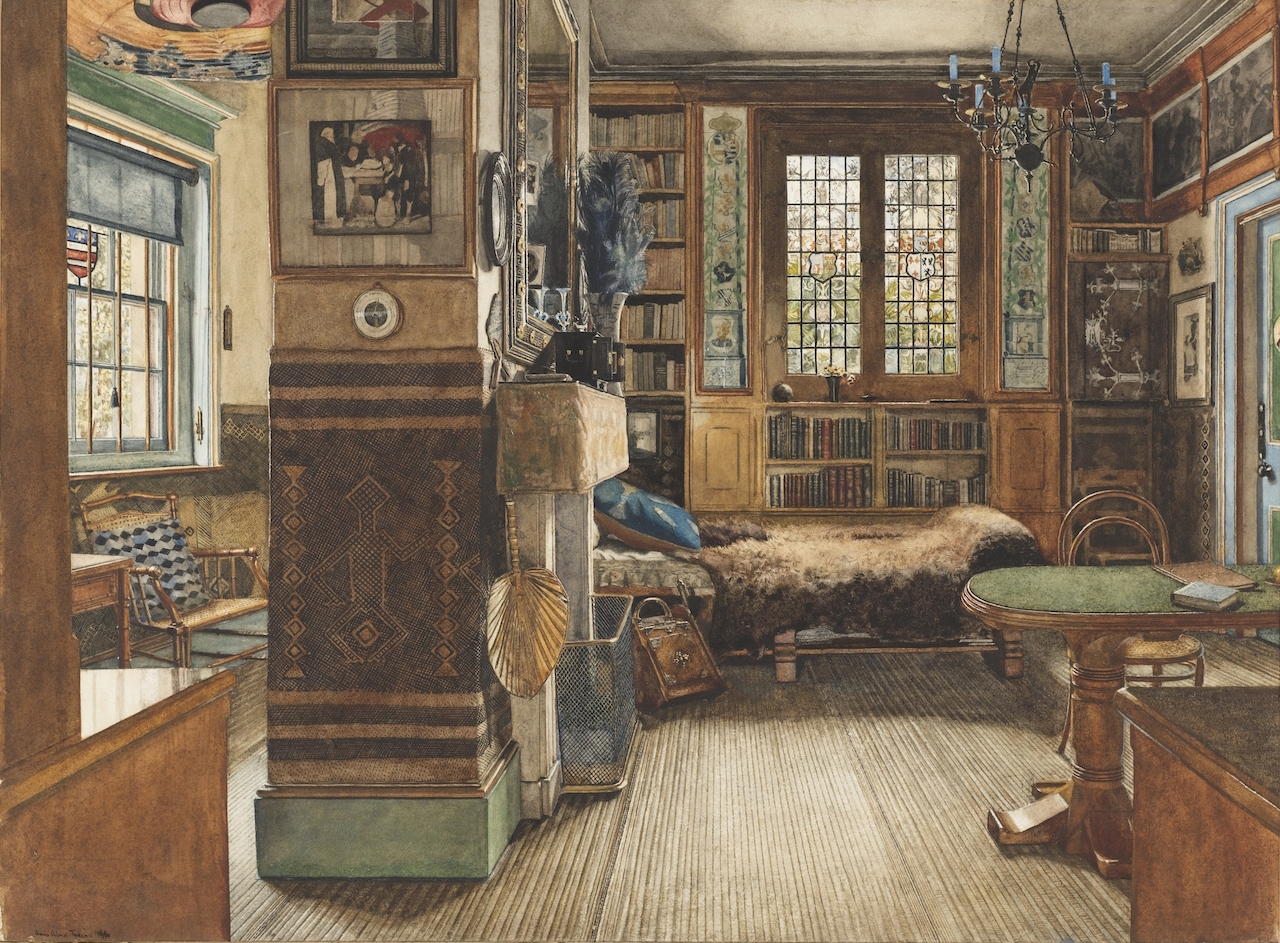 Domestic Interior Paintings Show How The 1 Lived In The