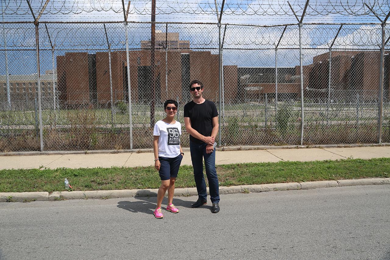 """PARK: 96 Acres"" organizers Maria Gaspar and Landon Brown"