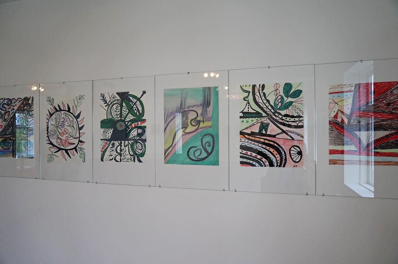 Drawings by Hrefna Sigurðardóttir (click to enlarge)