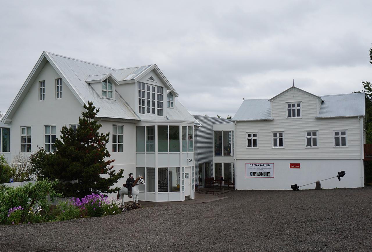 Exterior view of Safnasafnið