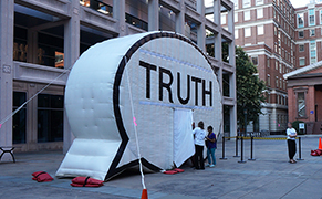 Post image for Hank Willis Thomas Seeks the Truth