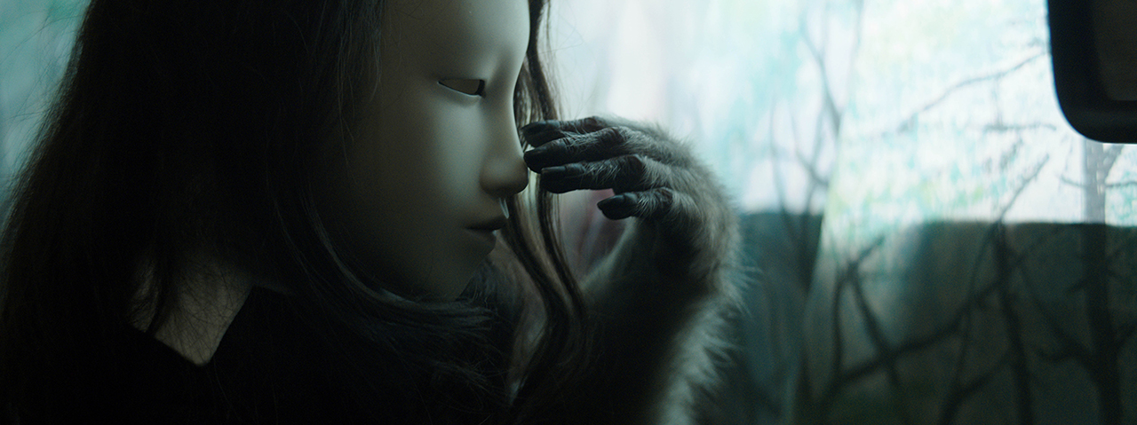 "Pierre Huyghe, still from ""Untitled (Human Mask)"" (2014), HD video in color with sound, 19 min (image courtesy the Metropolitan Museum of Art)"