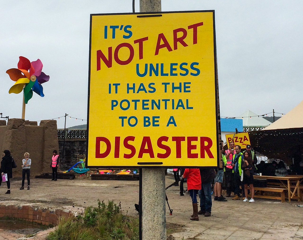 Disaster is necessary.