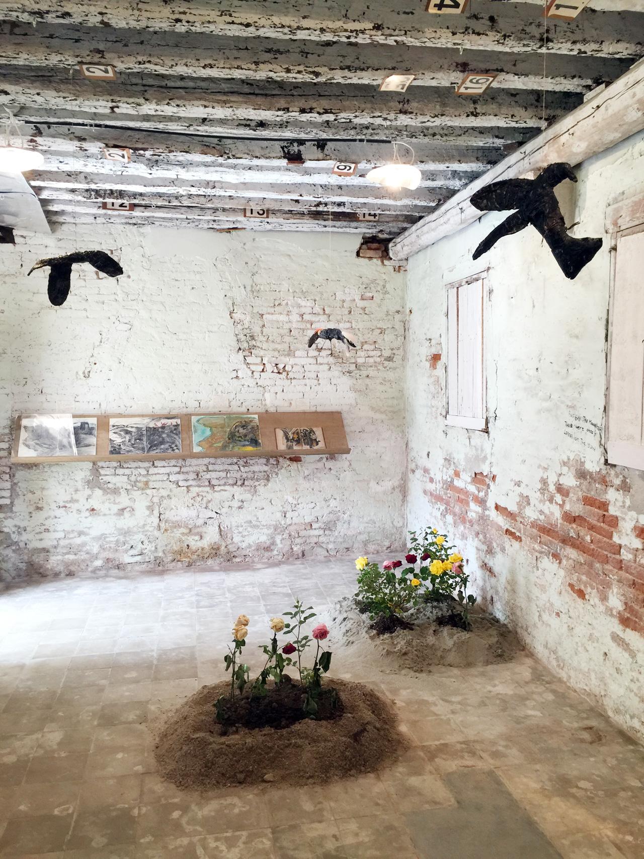 Anna Boguian's room installation