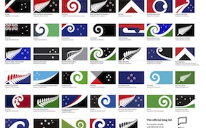 Post image for 40 Designs Vying to Replace New Zealand's National Flag