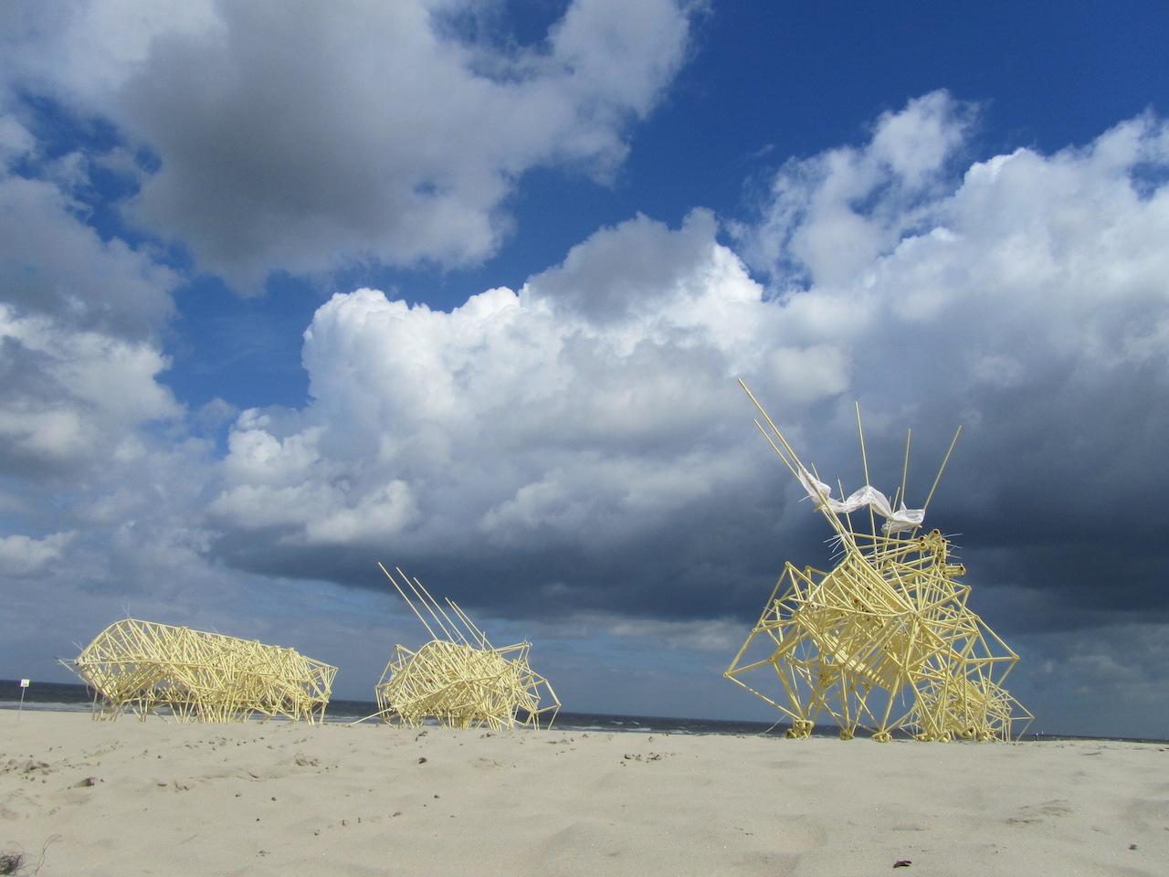 Theo Jansen Animaris Adulari 't Stille Strand 2012
