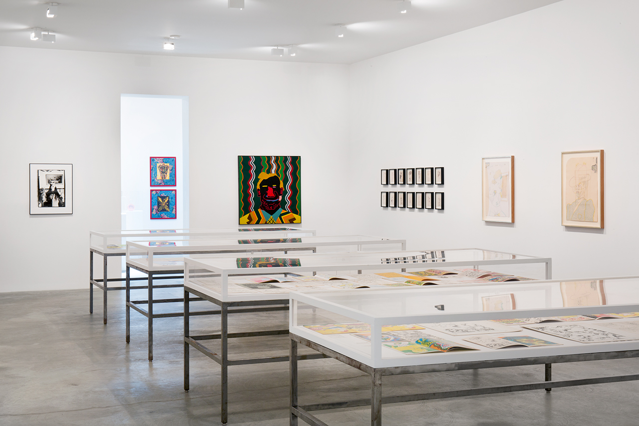 Installation view, 'What Nerve!' at Matthew Marks Gallery's 526 West 22nd Street location (image courtesy Matthew Marks Gallery)
