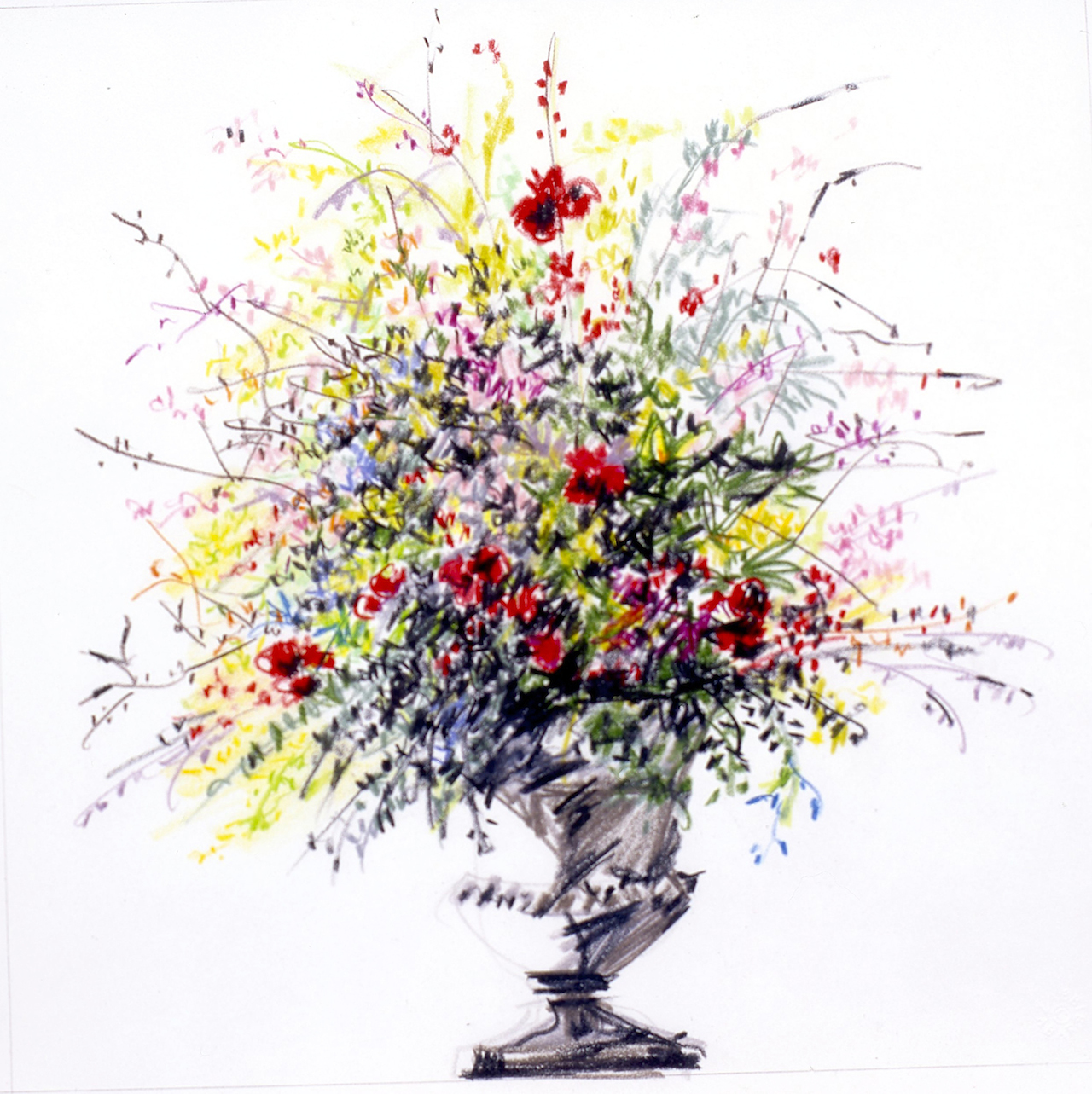 A Decade Of Drawing The Metropolitan Museum S Flowers