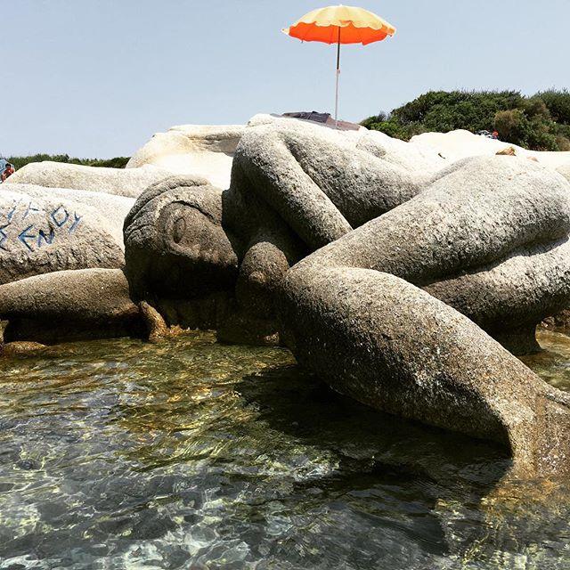 Dionisios Karipidis's mermaid at Kavurotripes (photo by @derenyazici/Instagram)