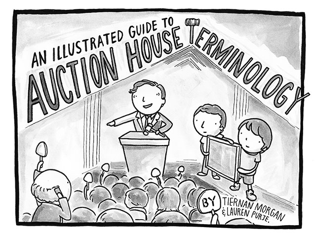An Illustrated Guide To Auction House Terminology