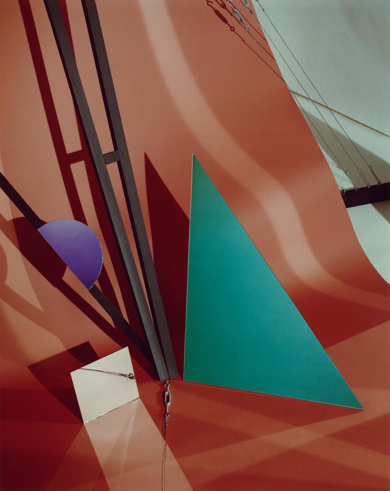 "Barbara Kasten, ""Construct VIII"" (1982), Polaroid, 10 x 8 in. (courtesy of the artist)"
