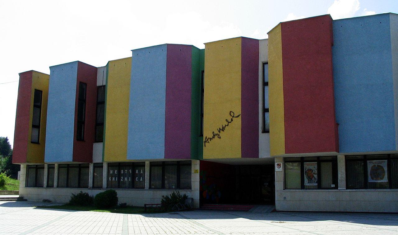 The Andy Warhol Museum of Modern Art in Medzialborce, Slovakia (photo via Wikimedia Commons)