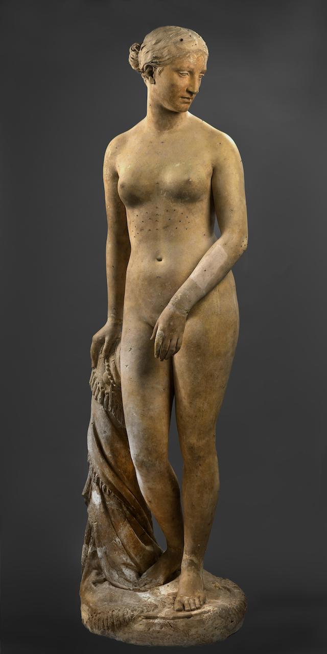 "Hiram Powers, ""Greek Slave"" (1843), plaster (courtesy Smithsonian American Art Museum)"