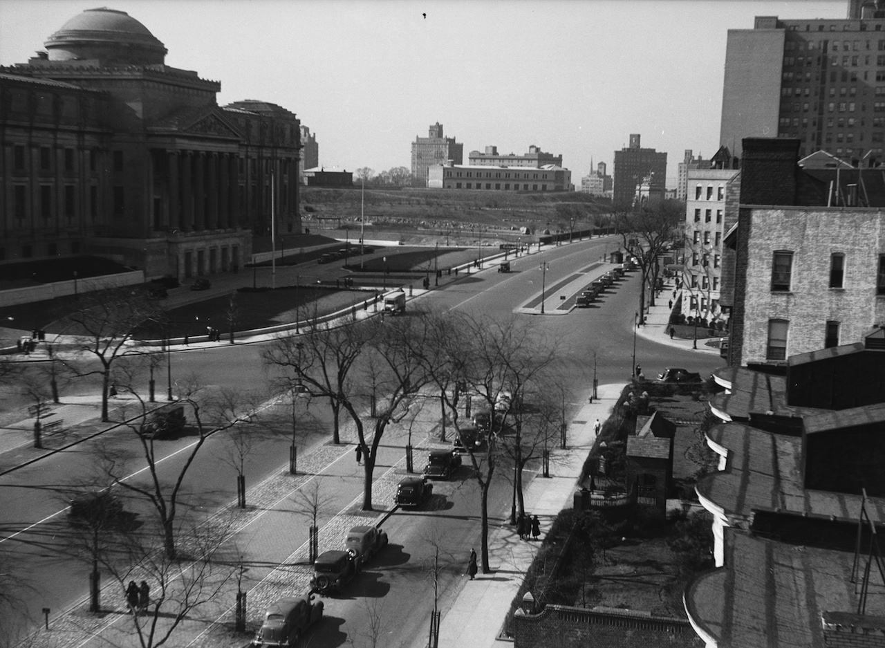 Eastern Parkway, Brooklyn Museum, 1937 (all photos courtesy the New York City Department of Parks and Recreation unless indicated otherwise)