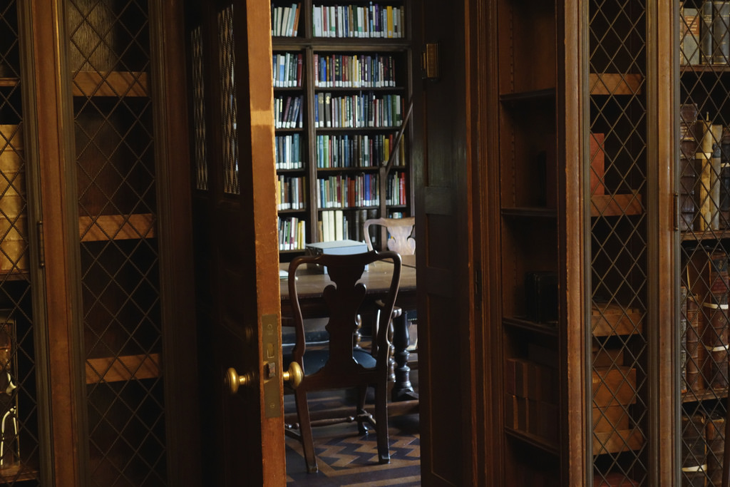 New York Academy of Medicine Rare Book Room (photo by the author for Hyperallergic)
