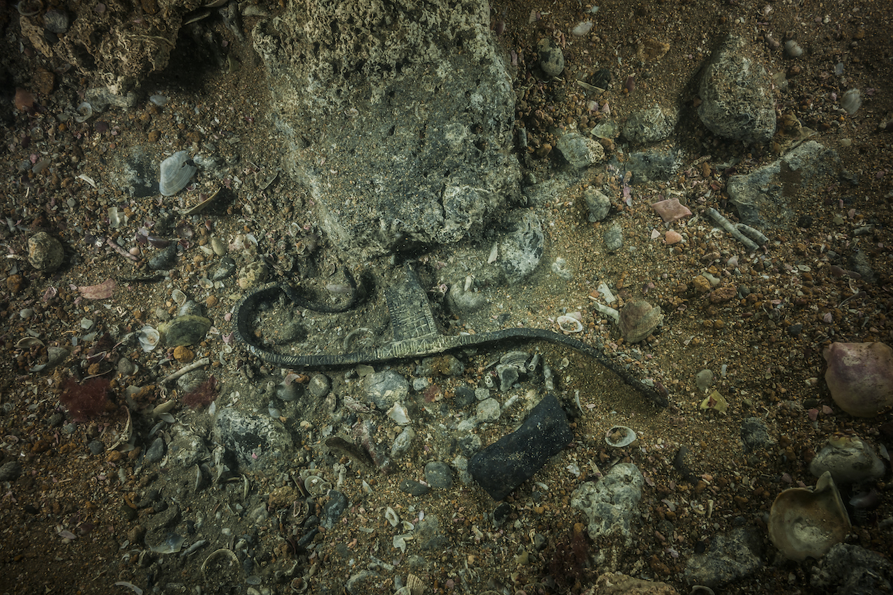 ancient egyptian artifacts revealed from a sunken city