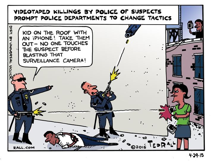 Cartoon by Ted Rall, Apeil 29. 2015 (via rall.com)