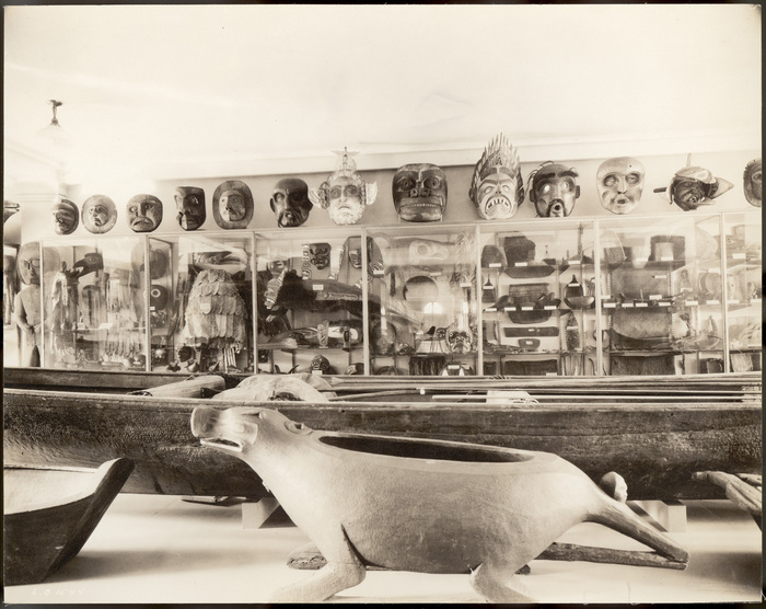 1921 view of the Smithsonian's Museum of the American Indian - Heye Foundation (photo by N. L. Stebbins, via Smithsonian Institution/Flickr)